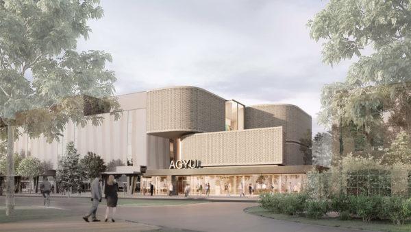Rendering of Hariri Pontarini Architects' winning design, façade