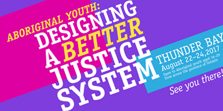 Aboriginal youth designing a better justice system