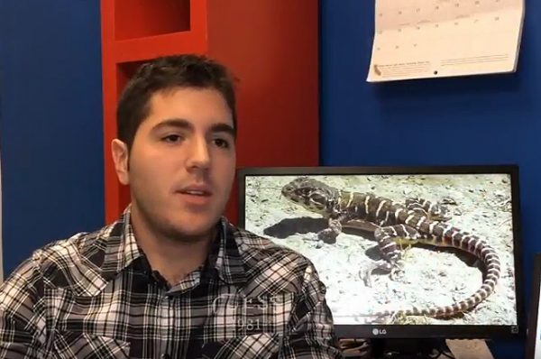 Alex Filazzola of York University's Faculty of Science explains his research on lizards and climate change