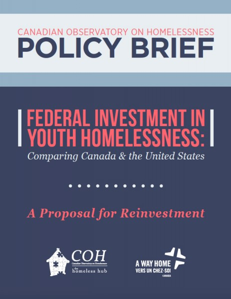 Canadian Observatory on Homelessness Policy Brief 2016