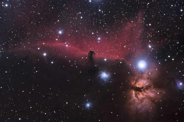 Photos of Horsehead Nebula Photo by recent York Science student Richard Bloch