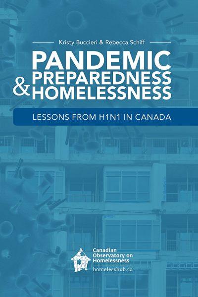 Cover of new book, Pandemic Preparedness & Homelessness