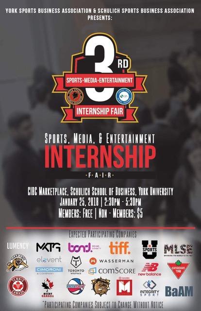 Schulich school of business internship fair