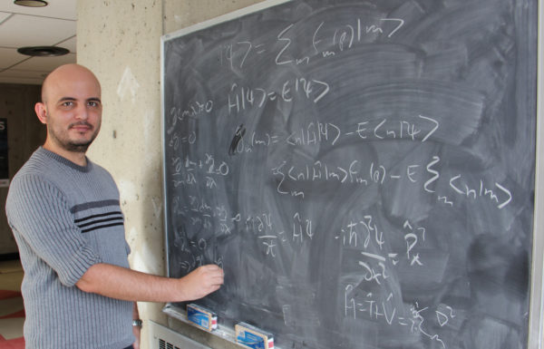 Faculty of Science Postdoc and York Science Fellow Ramon Alain Miranda Quintana is working on new computational algorithms at York University