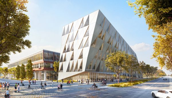image of the design concept for the school of Continuing Studies building