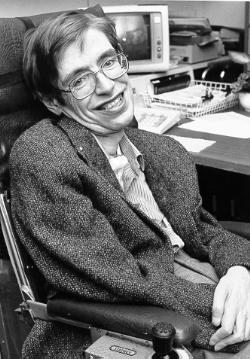 Stephen Hawking. Photo by NASA