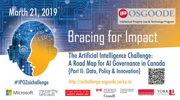 IP Osgoode conference flyer image