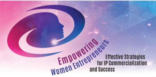 image of empowring women entreprenuers symposium poster