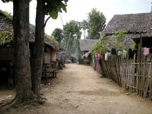 Image of Burmese refugee camp