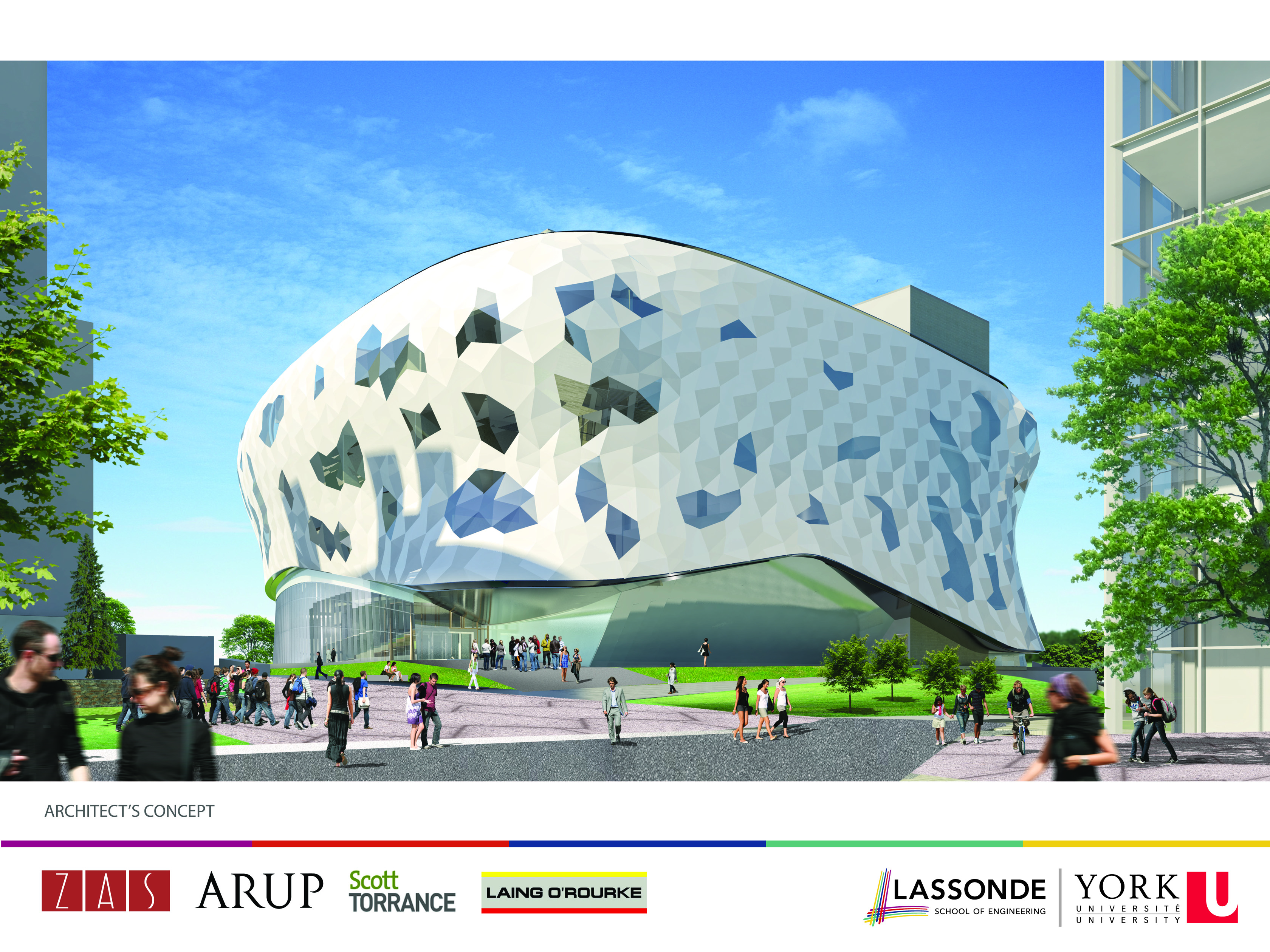 Architectu0027s Concept Image Of New Engineering Building York University ...